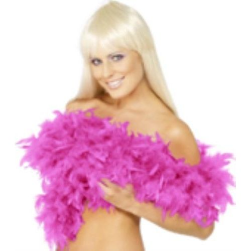 fancy dress Fuchsia Pink Feather Boa 200cm