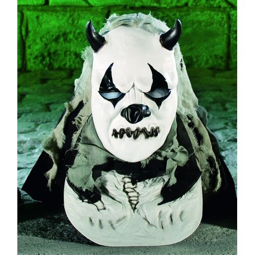 fancy dress and halloween horror Hooded Overhead Panda Mask With Chest Piece