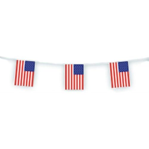 Party Flag Bunting USA Flags
