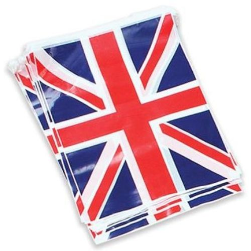 Union Jack Flag Bunting 25 Flags Approx 7 Metres