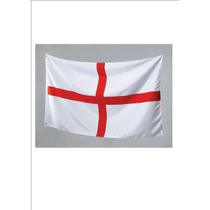 St George Cross Cloth Flag With Eyelets App 5ft x 3ft