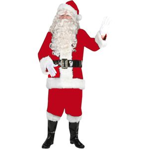 Deluxe Santa Suit & Accessories Fits Up To Size XXL