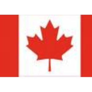 Canadian Cloth Flag With Eyelet 2 x 3