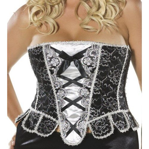 Sparkle Corset Size 16-18 plus size sexy fancy dress costume accessory