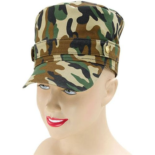 Camoflage Patterned Baseball Fancy Dress Hat