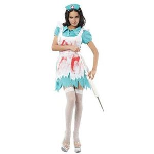 Blood Splattered Nurse Costume Size 12 -14