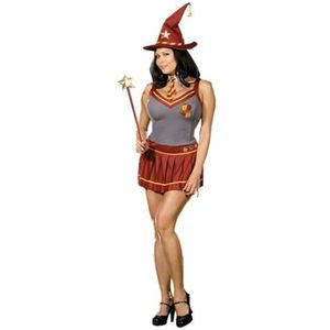 Wizard Academy School Girl Costume Size 16-18