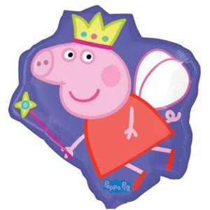 "Super Shape Peppa Pig Foil Balloon 22"" x 21"""