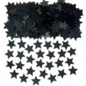 Black Stars Foil Confetti