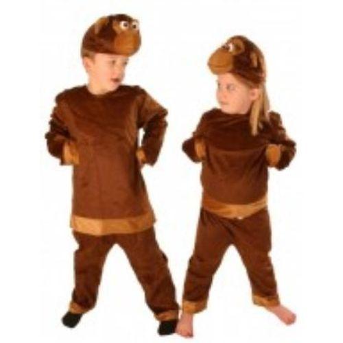 Childrens Monkey Fancy Dress Suit  Age 5-8 Years