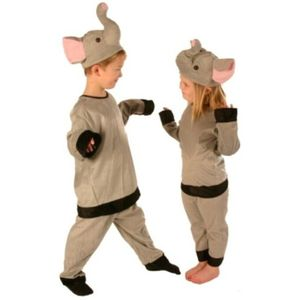 Childs Elephant Suit Age 5-8 Years