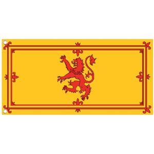 Scotland Lion Cloth Flag 5 x 3