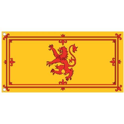 Scotland Lion Cloth Flag With Eyelets 5 x 3`