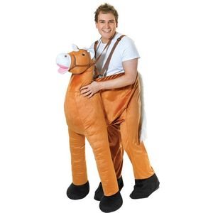 Step In Horse Costume Free Size