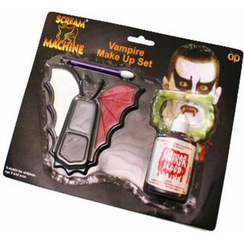 Vampire Make Up Set Halloween Fancy Dress Face Paint