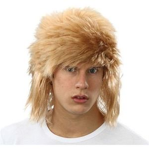 Shaggy Punk Style Wig ( Dark Blonde)