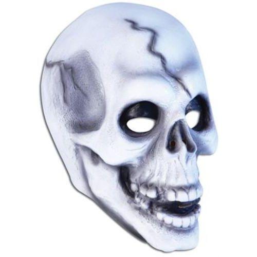 Skull Overhead Rubber Mask Halloween & Fancy Dress Accessory