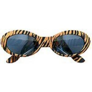 Ladies Animal Print Sunglasses (Tiger)