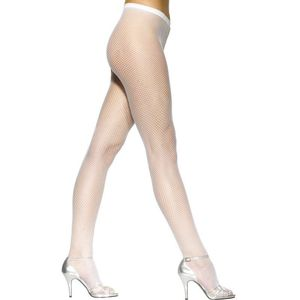 Fishnet Tights (White)