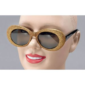 Glitter Glasses (Gold)
