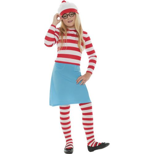 Where`s Wally Wenda Girl Fancy Dress Costume Age 10-12 years