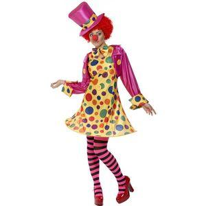 Clown Circus Lady Spotty Costume UK Size 12-14