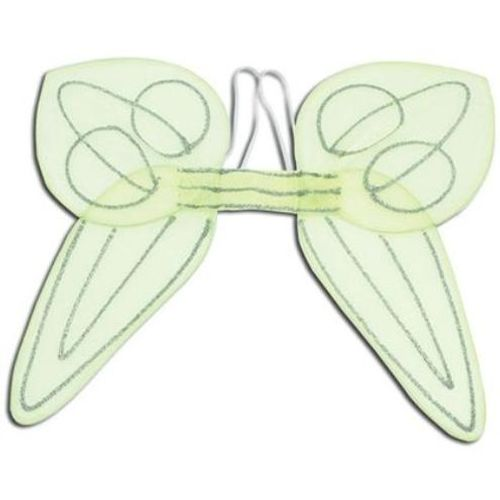 Angel Pixie Fairy Style Green Wings Fancy Dress Costume Accessory