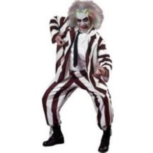 Beetlejuice Style Deluxe Costume Size L-XL