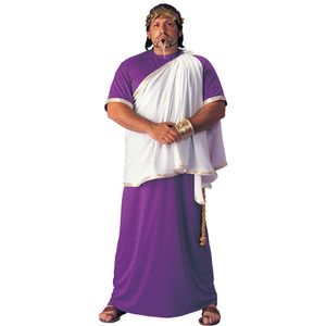 Julius Ceasar Greek/Roman Toga Costume Size XL-XXXL