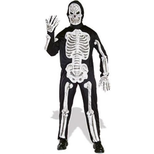 EVA Skeleton Halloween Fancy Dress Costume Size Large