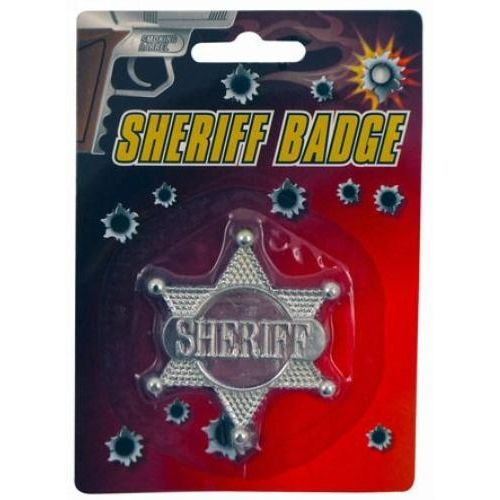 Sheriff Badge Fancy Dress Accessory