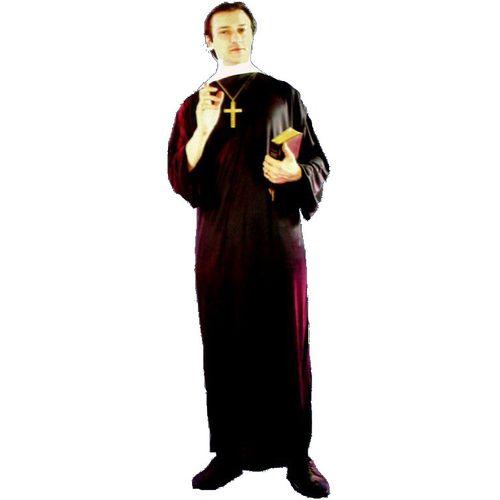 Vicar Plus Size Halloween Fancy Dress Costume XXL
