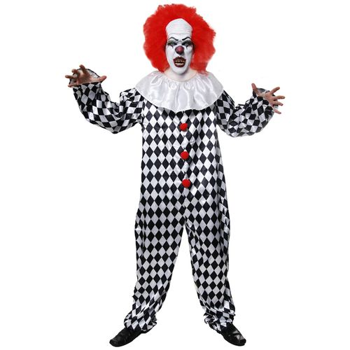 Clown IT Halloween Costume One Size Fits Most ( M-XL)