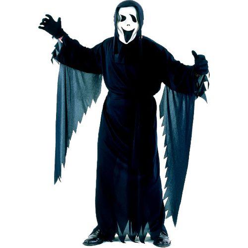 Demon Scream Style Fancy Dress Halloween Plus Size Costume
