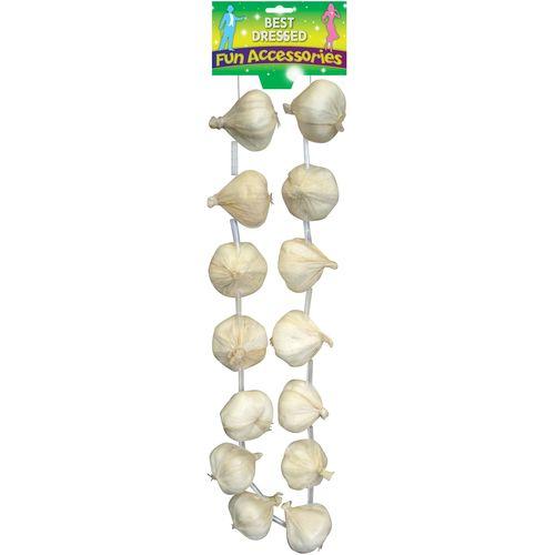 Garlic String Garland Fancy Dress Accessory