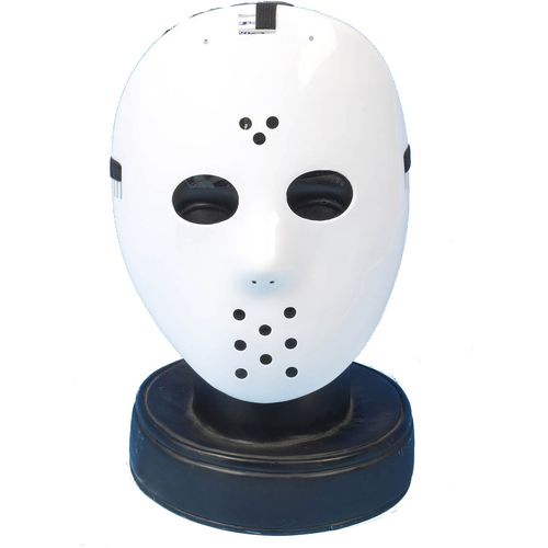 Deluxe Hockey Style Mask Halloween Fancy Dress Costume Accessory
