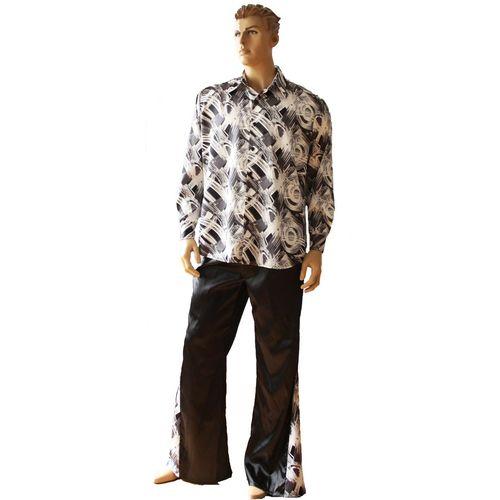 Gents 70`s Abba Style Fancy Dress Costume Size Medium