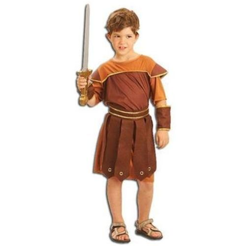 Childrens Roman Soldier Fancy Dress Costume Age 9-11 Years
