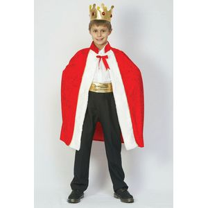 Childs King's Robe Set Fancy Dress Age 9-11 Years