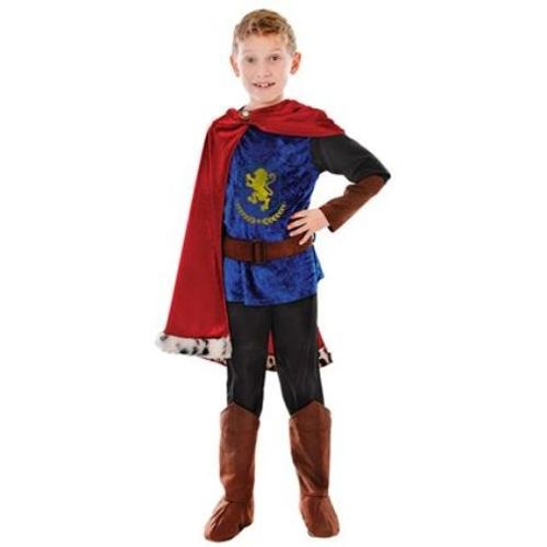 Childs Medieval Prince/Knight Fancy Dress Costume Age 6-9 Years