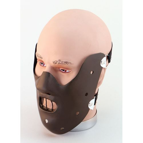 Hannibal Lecter Style Face Mask Fancy Dress & Halloween Costume Accessory