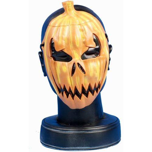 Pumpkin Rubber Face Mask Halloween & Fancy Dress Accessory