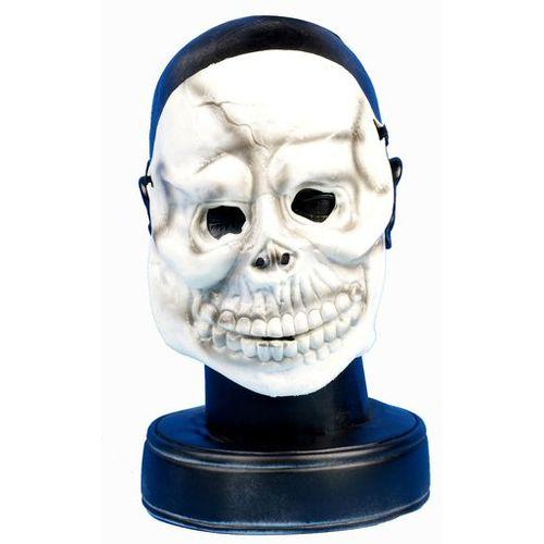 Skeleton Rubber Face Mask Halloween & Fancy Dress Accessory