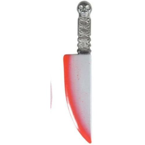 Bloodied Knife Plastic Halloween & Fancy Dress Weapon or Prop