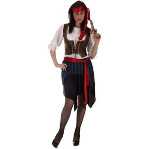 Caribbean Pirate Lady Plus Size Costume