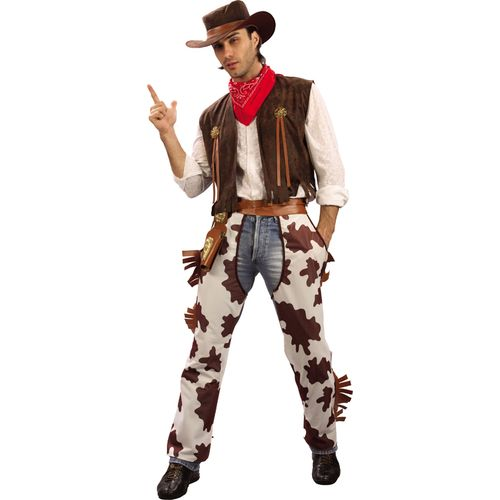 Cowboy  Fancy Dress Costume Size L-XL