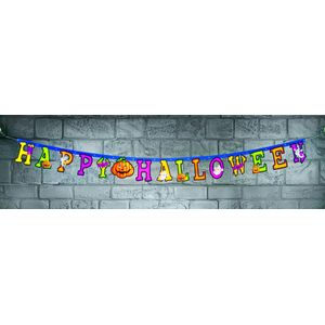 Happy Halloween Jointed Letter Banner Approx. 2.1M