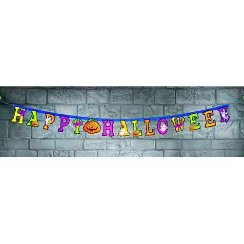 Happy Halloween Jointed Letter Banner Party Room Decoration