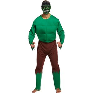 Hulk Monster Green Giant Costume Size L-XXL