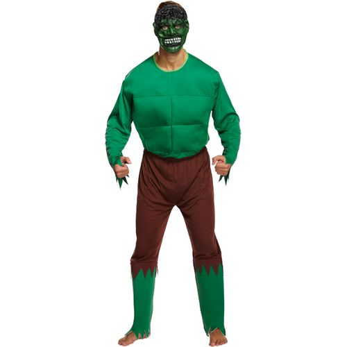 Hulk  Monster Green Giant Fancy Dress Costume Size L-XXL